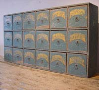18th Century Flight of 18 Drawers