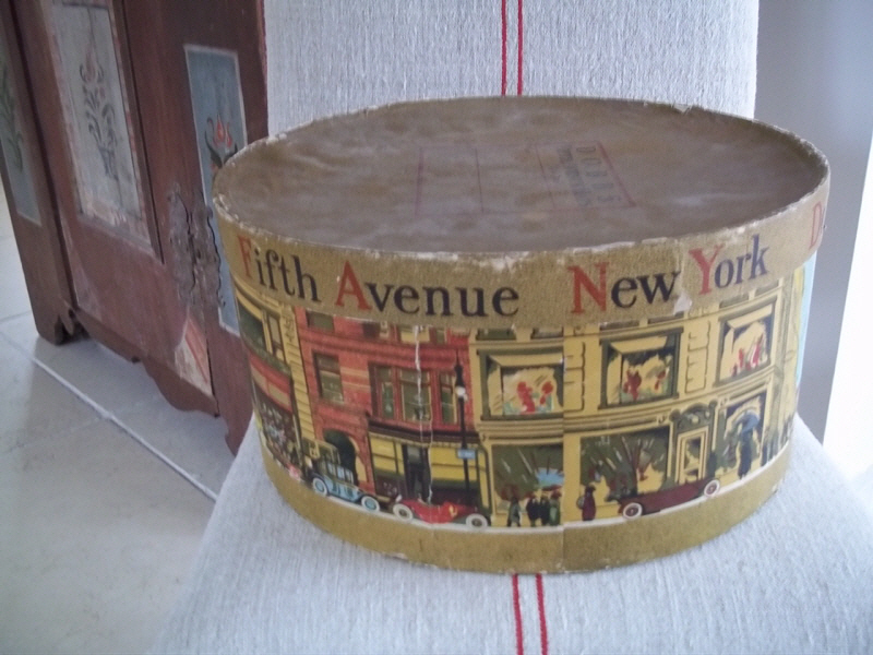 Decorative Hat Boxes Uk : America hat box antique decorative items