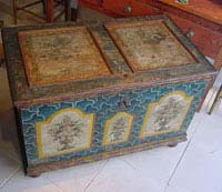 Antique Painted Coffer