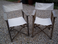bleached directors chairs