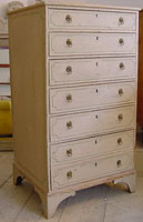 Decorative Antique English Chest of Drawers