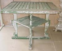 Decorative Wooden Garden Table