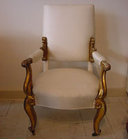 Early 19th Century Decorative Armchair
