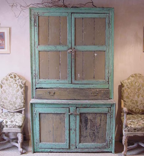 English Rustic Cupboard - Antique Sold Items