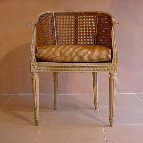 Antique sold items gt gt french cane chair