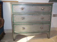 georgian painted chest