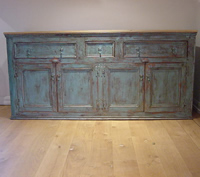 Large Painted Dresser Base