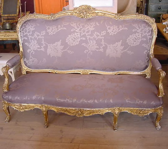 Ornate Sofa - Antique Sold Items