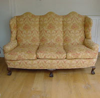 Winged 3 Seater Sofa