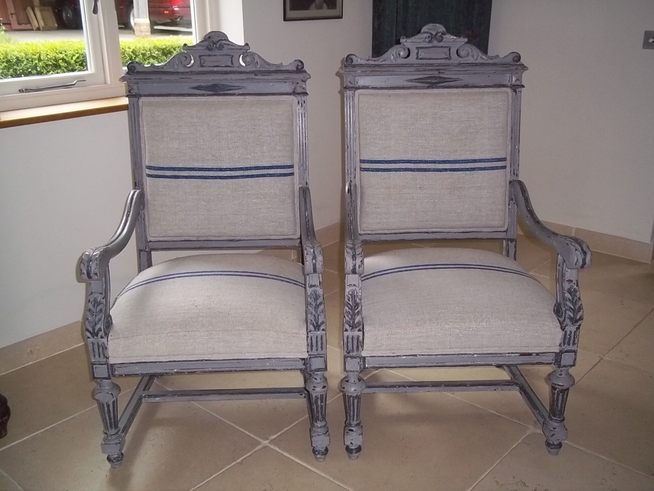 Are you looking for antique French armchairs? We have classic Provincial options available with us!