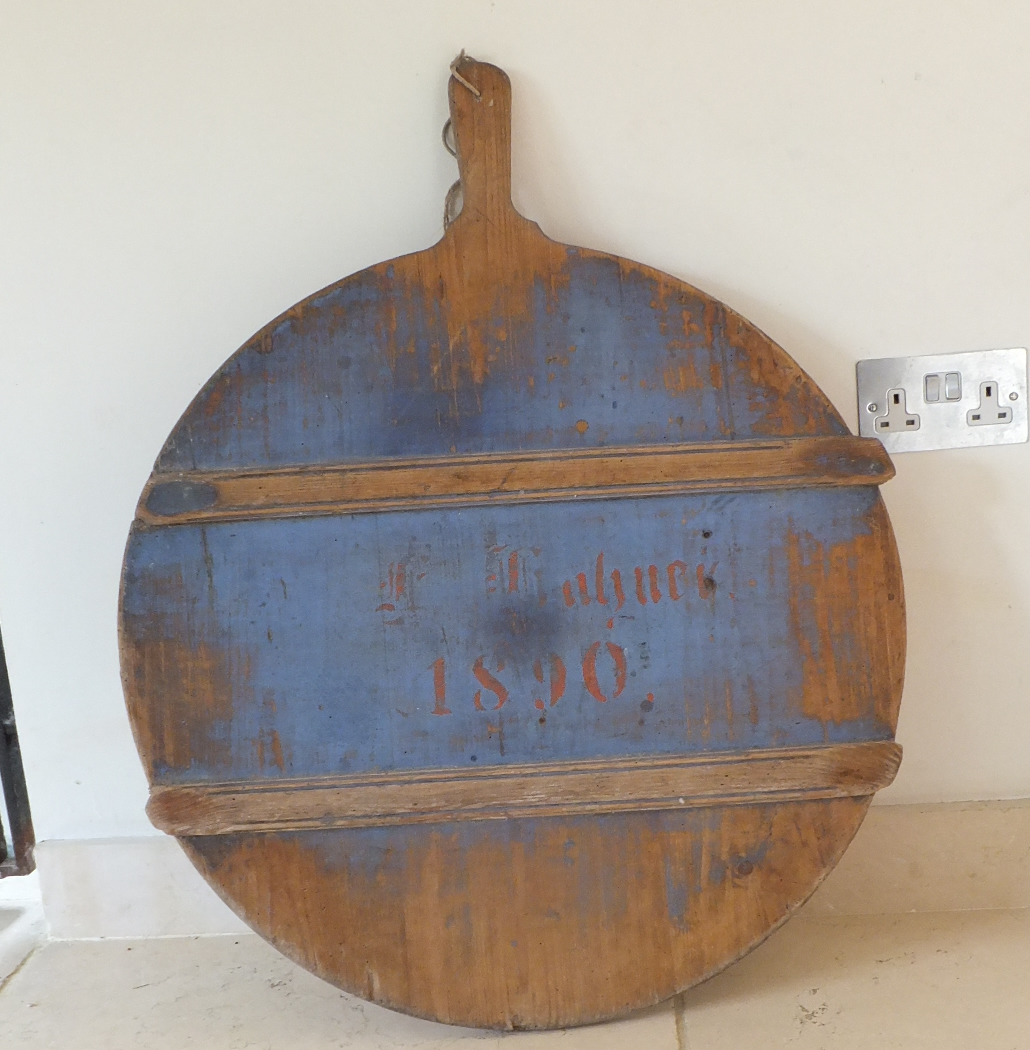 Check out this Antique cheese board