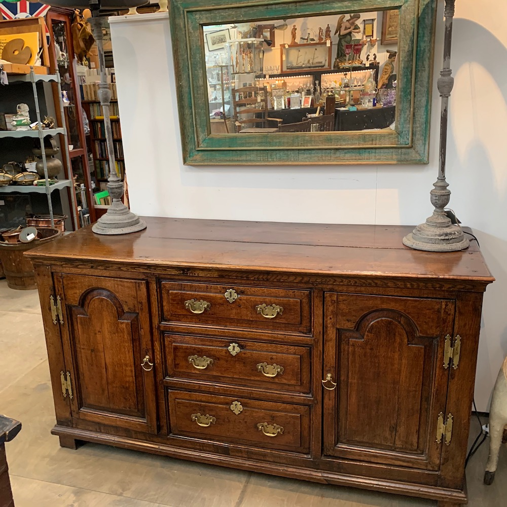 18th Century English Oak Dresser