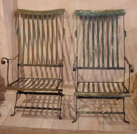 Antique Garden Chairs - Antique Garden Chairs - Antique Sold Items
