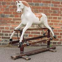 antique lines bro Rocking Horse