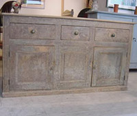 Antique Pine Dresser Base