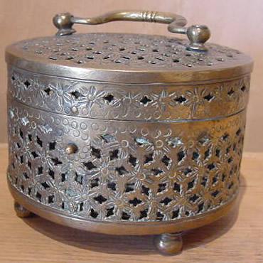 Brass Incense Burner - Antique Decorative Items