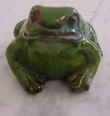 Ceramic Frog Ornament Antique Decorative Items
