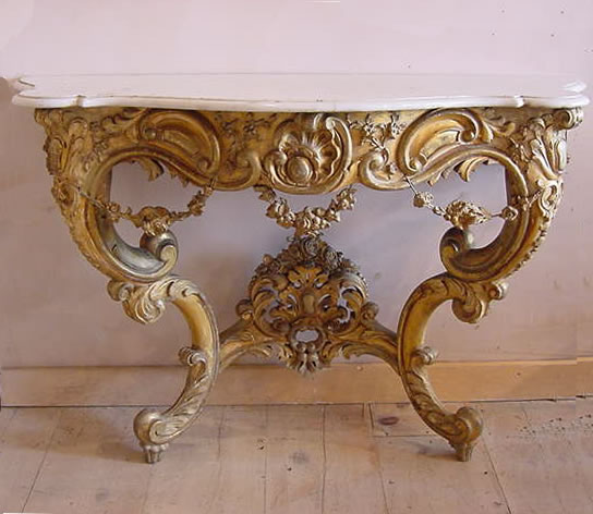 Console Table Antique Sold Items