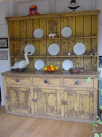 Distressed Kitchen Dresser