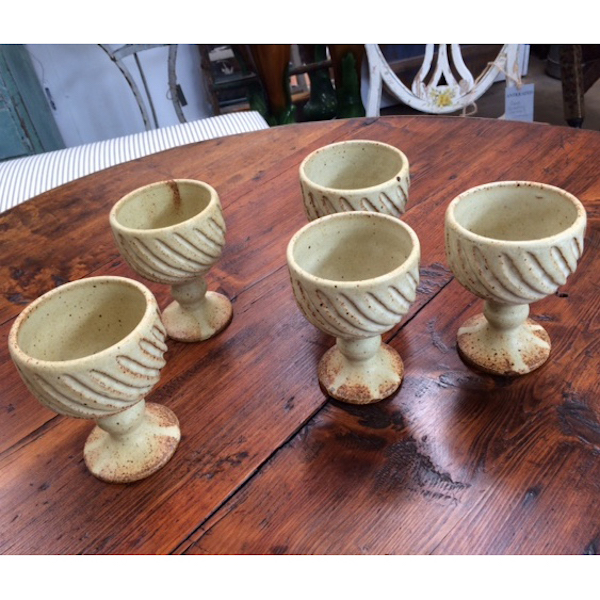 Five Stone Wine Goblets