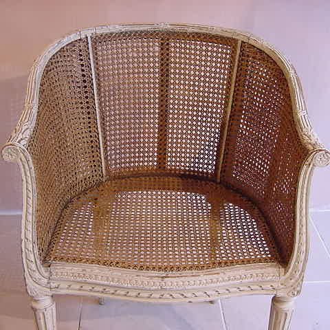french cane chair. French Cane Chair