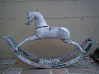 Georgian Bow Rocking Horse