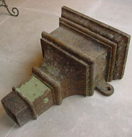Georgian Cast Iron Hopper