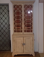 glazed cupboard