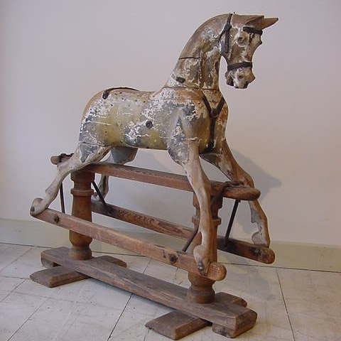 Old Fashioned Rocking Horse Sale