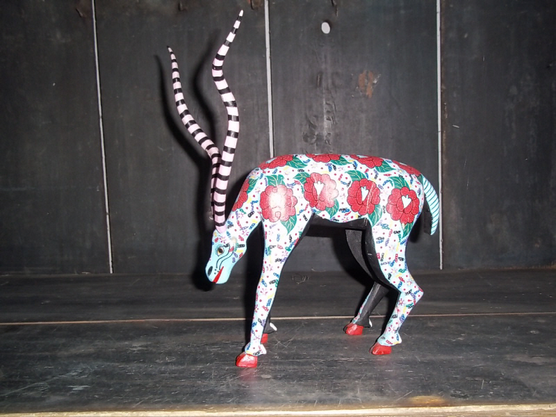 mexican folk art Goat