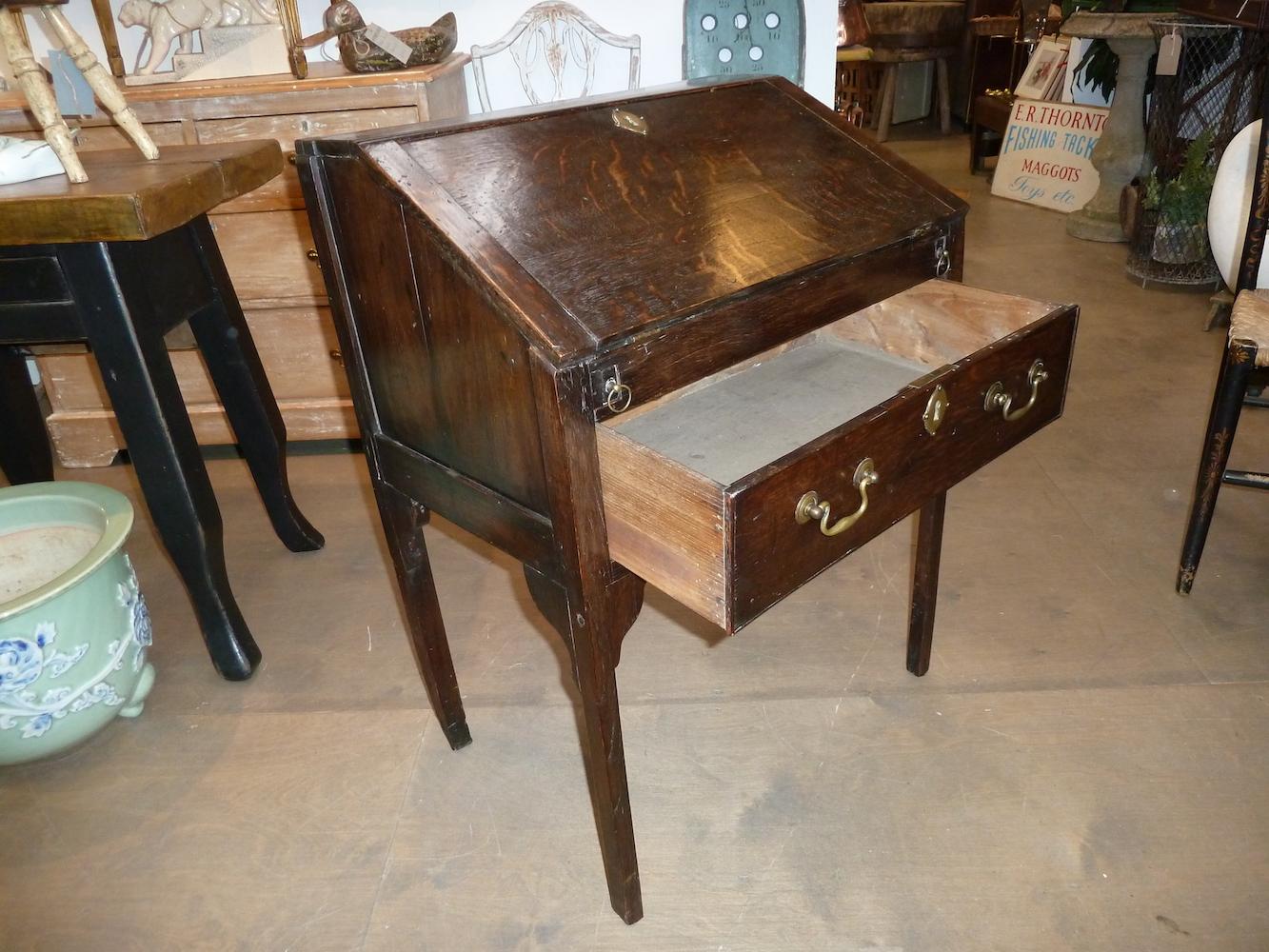 Oak bureau antique new stock