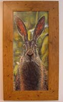 Oil Painting of a Hare