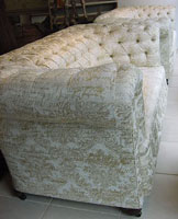 Pair of Antique Sofas