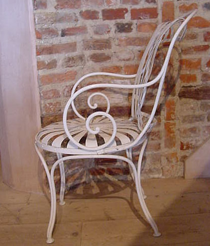 French Metal Garden Furniture Pair of french metal sprung garden chairs antique sold items pair of french metal sprung garden chairs workwithnaturefo