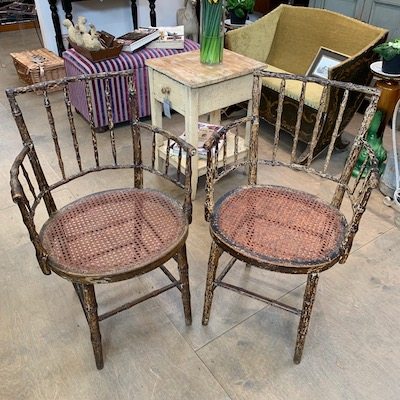 Pair of Georgian Light Chairs