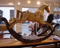 Rare Antique Rocking Horse
