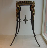 Regency Brass and Iron Planter