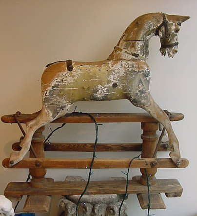 Rocking Horse By Lines Bros Antique Rocking Horses