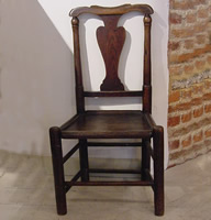 Single Oak Chair