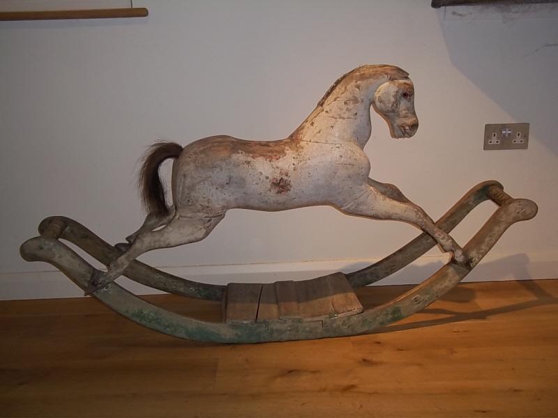 Small Rocking Horse Antique Rocking Horses