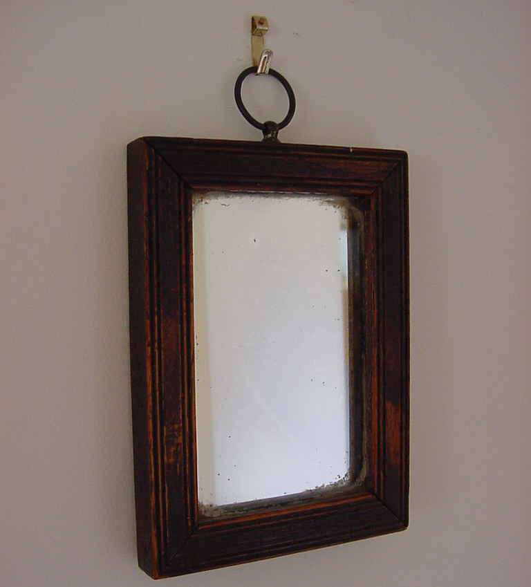 Small wall mirror antique mirrors for Small decorative mirrors
