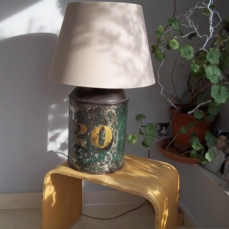 Antique table lamps antique outdoor lighting antique hanging antique lighting tea caddy lamp aloadofball Image collections